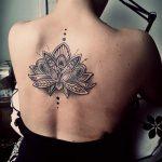 lotos dotwork, galeria tatuazu sanok
